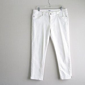 Paige white Kylie Crop jeans